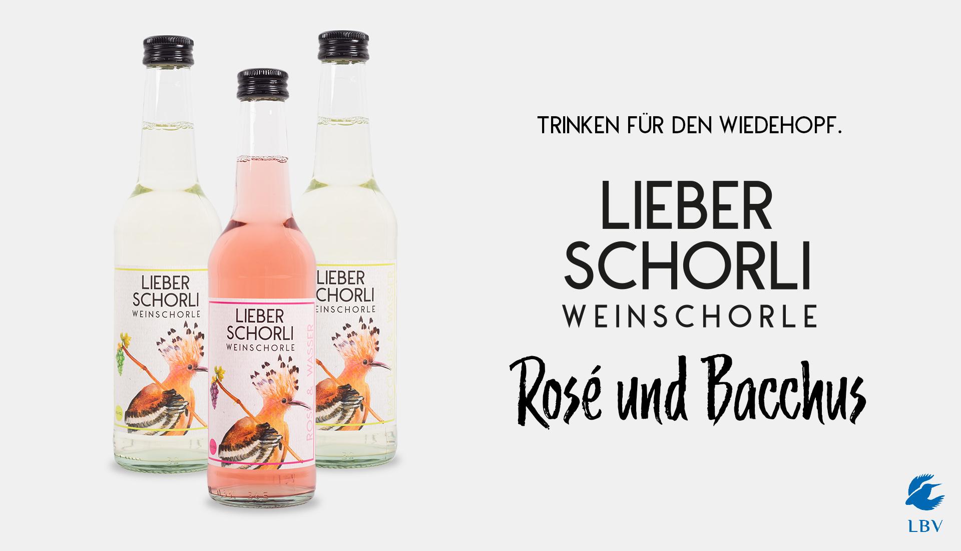 Lieber Schorli - Trinken für den Wiedehopf